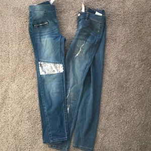Justice Size 14 Jeggings NWT